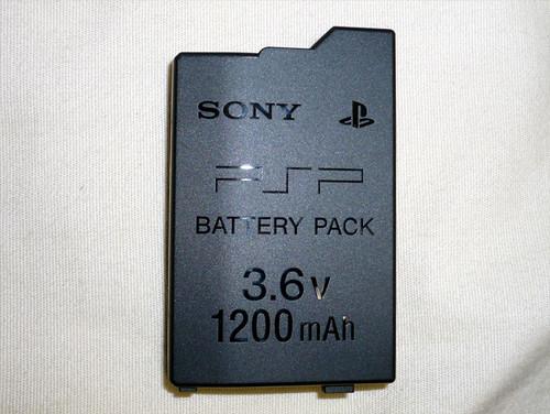 Battery Pack pada PSP-3000