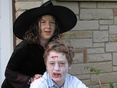 AJ and Erin on Halloween