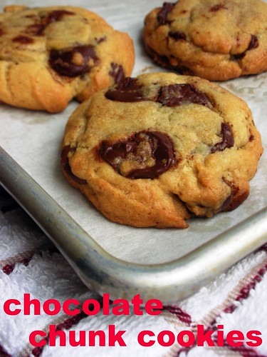 the ultimate chewy and soft chocolate chunk cookies