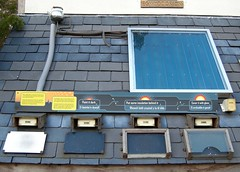 Solar water heating: panel comparison