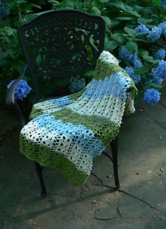 Hydrangea Lace Wrap