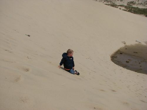 Jacob Climbing the Dune