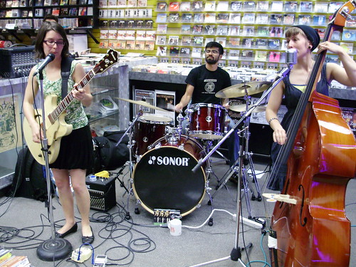 The Bella Donnas live! in-store performance at Music Trader on September 12 2008
