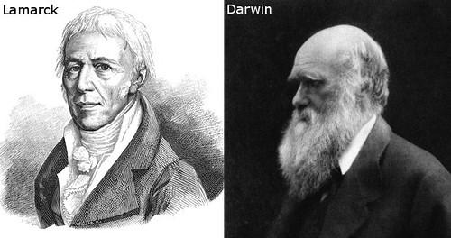 Jean-Baptiste Lamarck and Charles Darwin