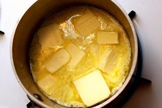 butter, melting