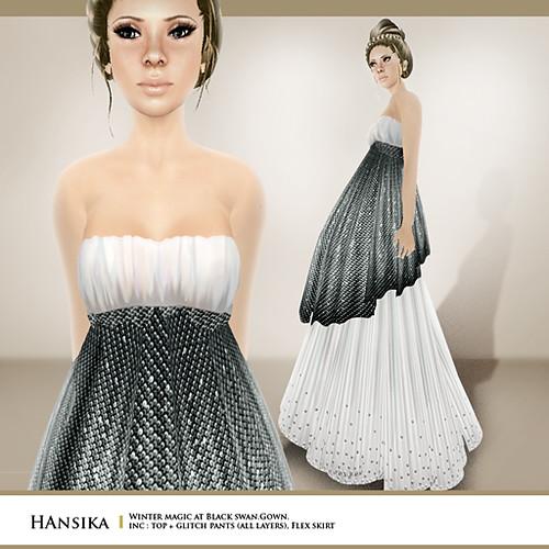 Hansika (inspired by winter at black swan)