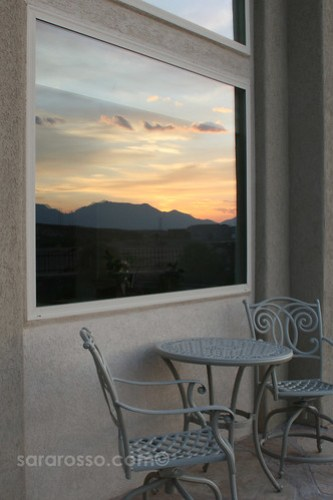 Sunrise in Las Cruces, New Mexico