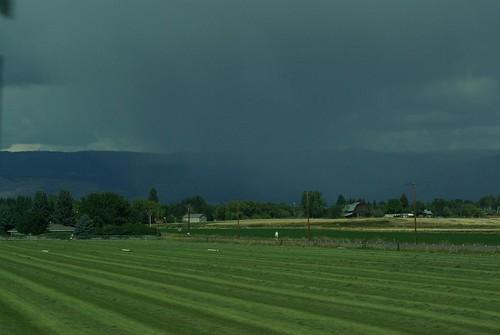 Ellensburg rainstorm