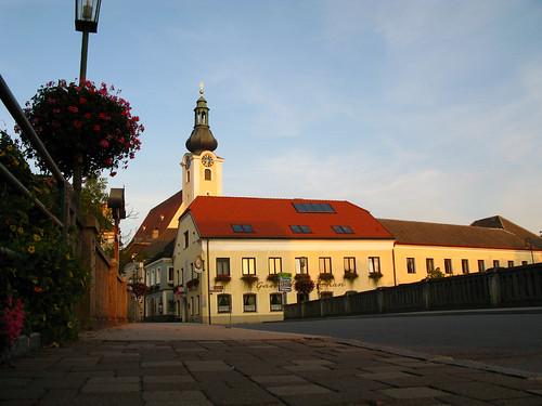 The main church in Purgstall