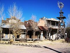 Wyatt Earp's Old Tombstone, an abandoned touri...