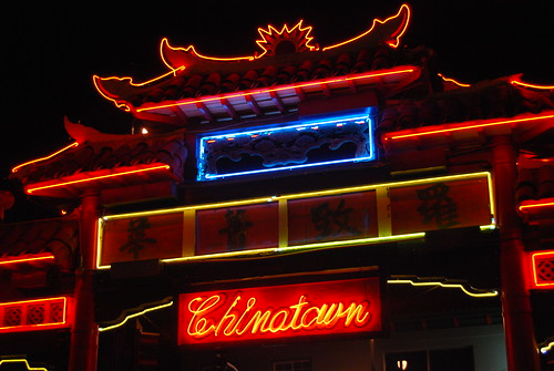 Neon Lights - Chinatown - Los Angeles, CA