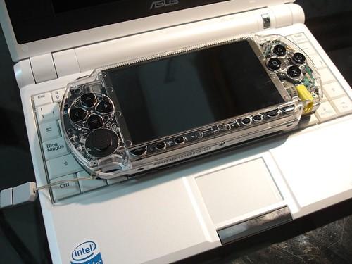 Comparación con una PSP