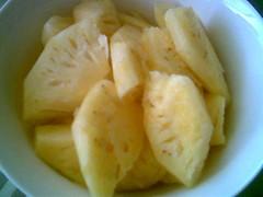 main ingredient 2 - pineapples