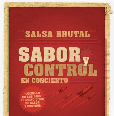 Afiche Sabor y control