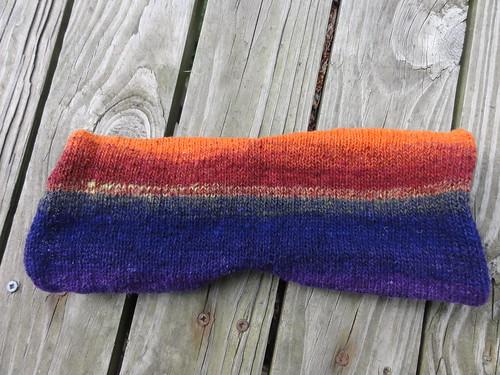 Sideways sock - front