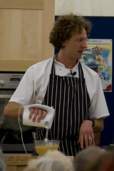 James Nathan, Masterchef Winner 2008, cooking up a storm