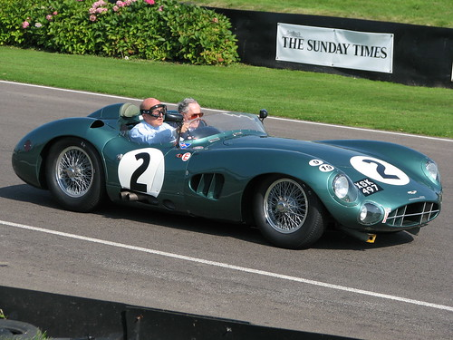 Sir Stirling Moss and Sir Jack Brabham