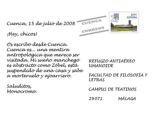 Postal de Monocromo 2