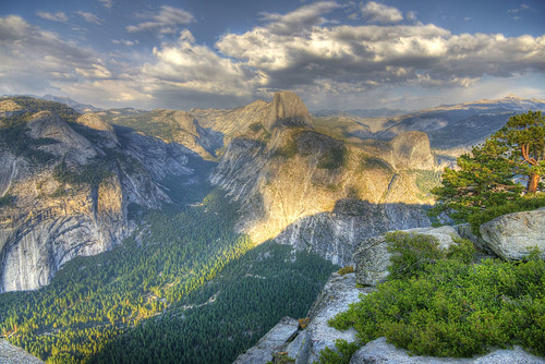 Yosimite Valley und Half Dome