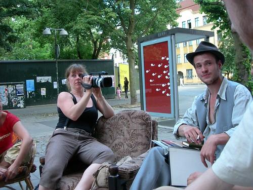 Lena Ek dokumenterar samordningsmöte våren 2007