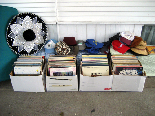 Records and hats