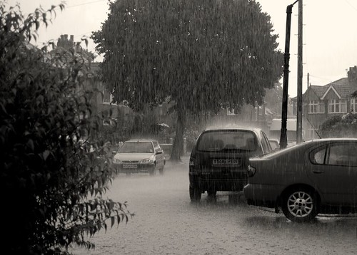 Hard Rain In Suburbia