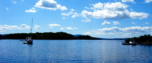 Loch Lomond in Blue