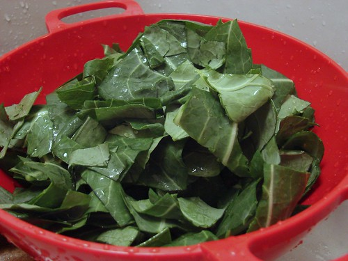 chopped collards