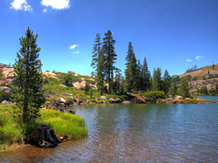 Pacific Crest Trail Lake