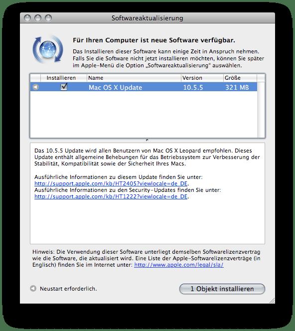 Mac OS 10.5.5