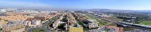 Panorámica de Alcalá desde su punto más alto