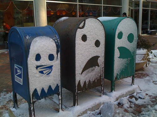 Snow Ghosts por simonk.
