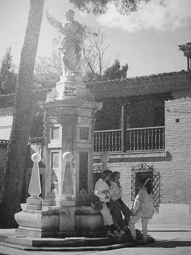 Plaza de los Doctrinos en los años 80