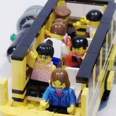 Lunar School Bus Interior - Sit Down And SHUT UP!!!