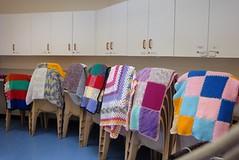 Knitting Group - Afghans1