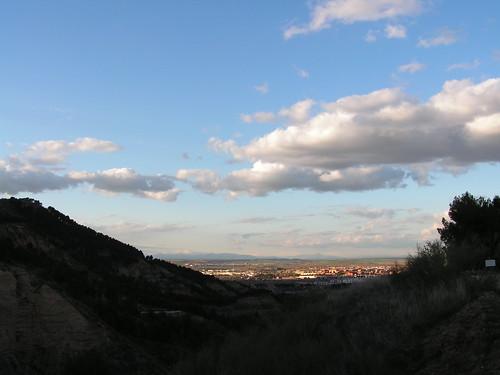 Alcalá a través del valle