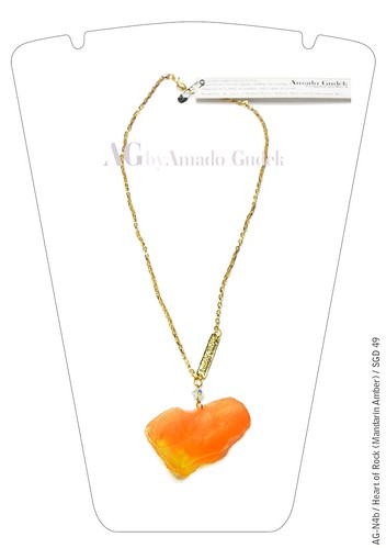 Dulcetfig - AG by Amado Gudek Heart of Rock Mandarin Amber