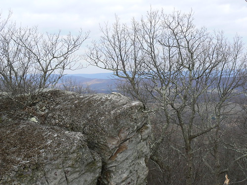 Sinking Creek Mountain - View To the West