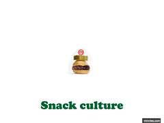 Snack culture