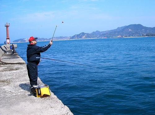 Pescador en Kashima