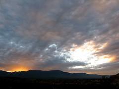 Sunset Over Mingus Mountain