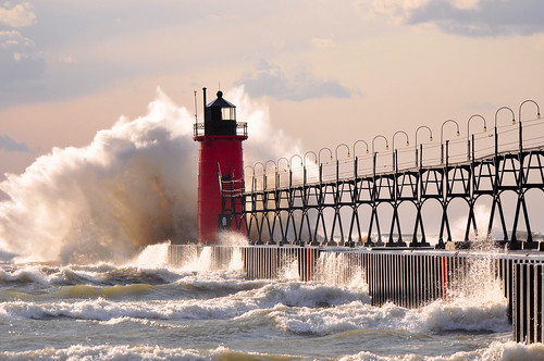 Late October on Lake Michigan