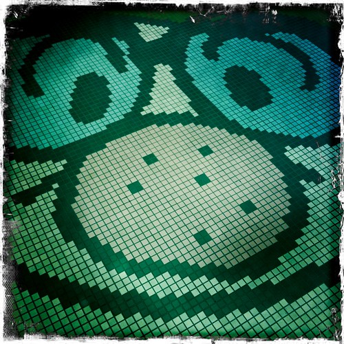 Tezuka mural floor