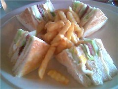 Pinnacles club sandwich
