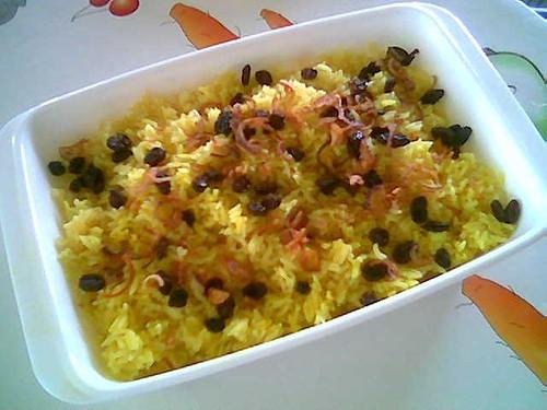 STP's saffron rice