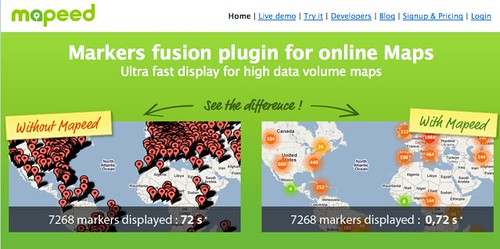 Markers fusion plugin for Google Maps by you.