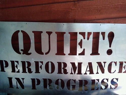Quiet! by Karyn Ellis