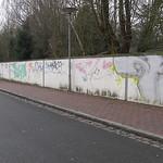 Grafitti-Mauer