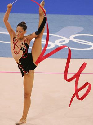 Rhythmic Gymnast ribbon