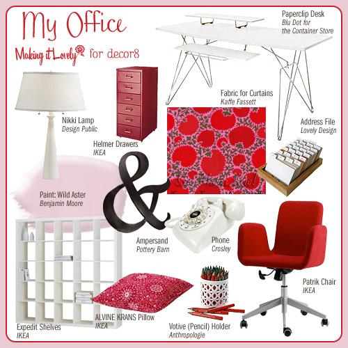 Nicole Balch Office Redux Under $200